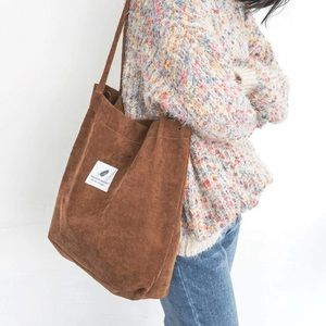 Handbags - Cord Tote Bag